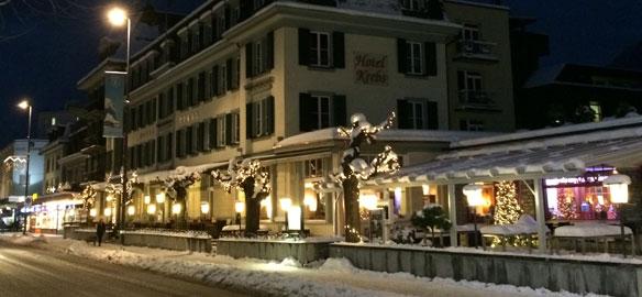 Jungfraujoch-Special - 1 Übernachtung im Hotel Krebs (Doppelzimmer) in Interlaken inkl. Ticket zum Jungfraujoch