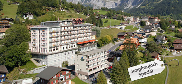 Jungfraujoch-Special: 2 nights in a classic Eiger twin room at 4*- Hotel Belvedere, Grindelwald - incl. a mountain railway ticket to the Jungfraujoch from CHF 399.- per person