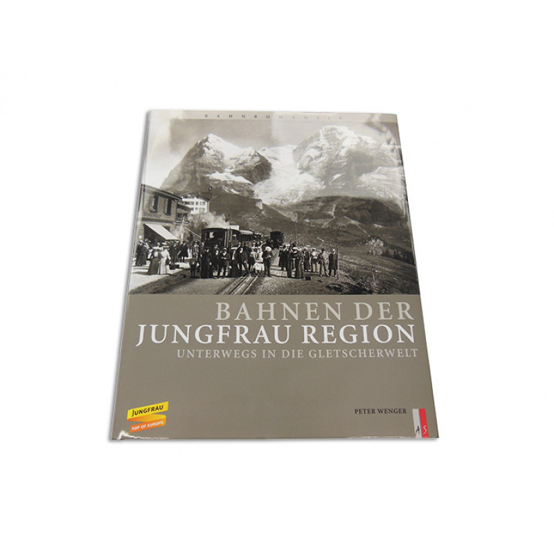 Book about the railways of the Jungfrau Region