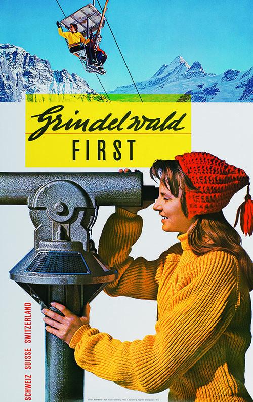 Nostalgieposter Grindelwald-First 2