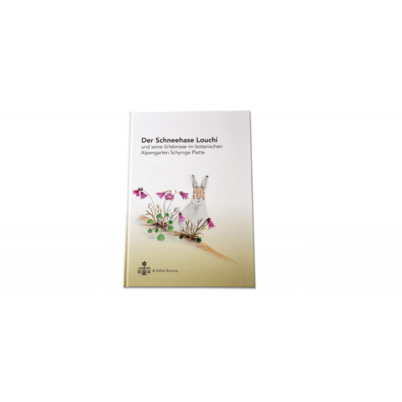 """Kinderbuch """"Der Schneehase Louchi"""" - Deutsch"""