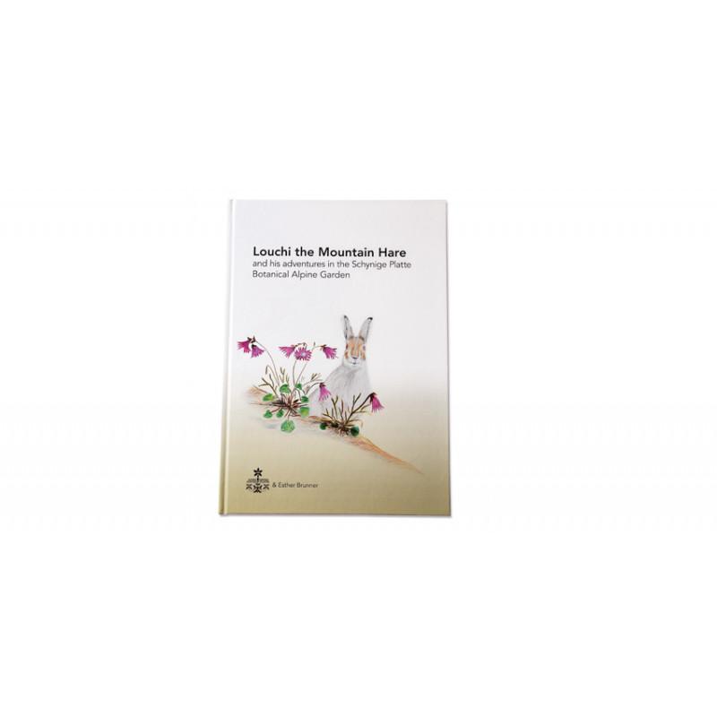 """Kinderbuch """"Der Schneehase Louchi"""" - Englisch"""