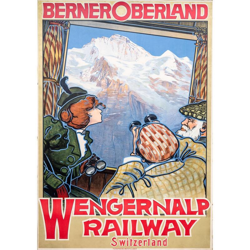 Nostalgieposter Wengernalpbahn 2