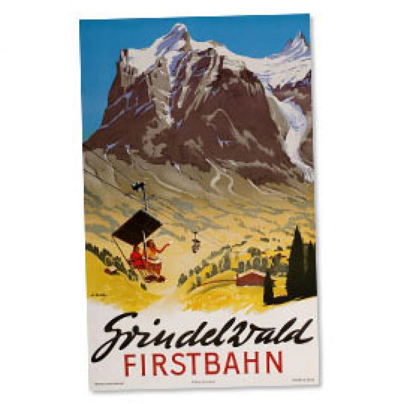 Poster Nostalgique Grindelwald - First