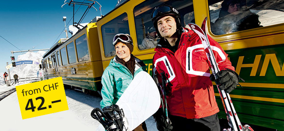 Packages for ski holidays or weekend trip
